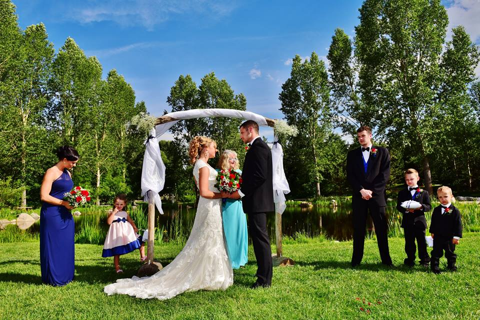 yampa river botanic park outdoor wedding by marlene fisher